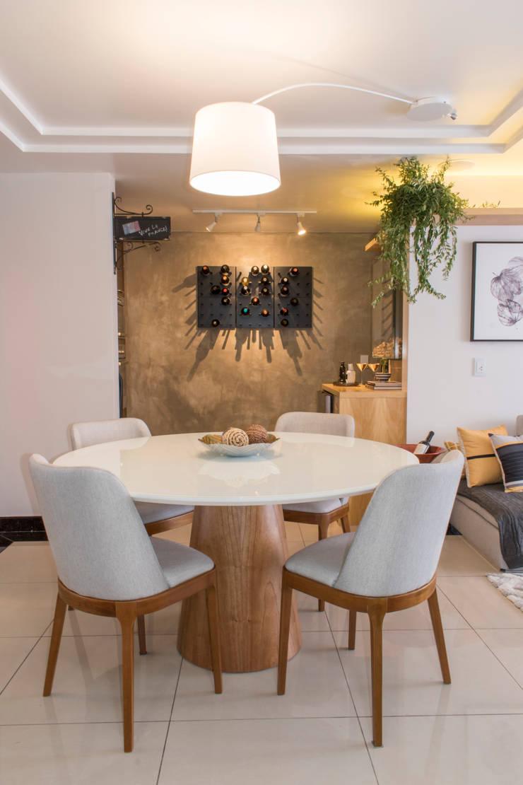 Dining room by CORES - Arquitetura e Interiores, Modern