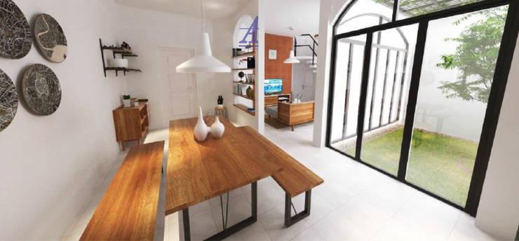 The Kinder House - Pejaten, Jakarta Selatan :  Ruang Makan by Asta Karya Studio