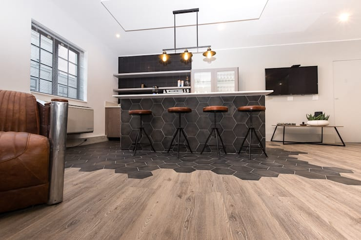 Khu Thương mại theo Wanabiwood Flooring, Hiện đại