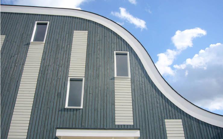 Fincas de estilo  por Arc2 architecten, Moderno