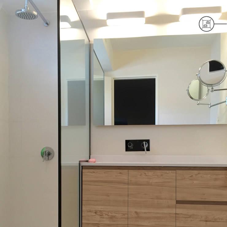 Interiorismo : Baños de estilo  por Kgarquitectura ,Moderno