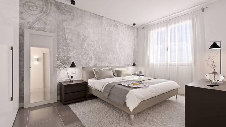 غرفة نوم تنفيذ Gentile Architetto