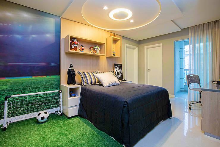 Kamar tidur anak laki-laki by RI Arquitetura