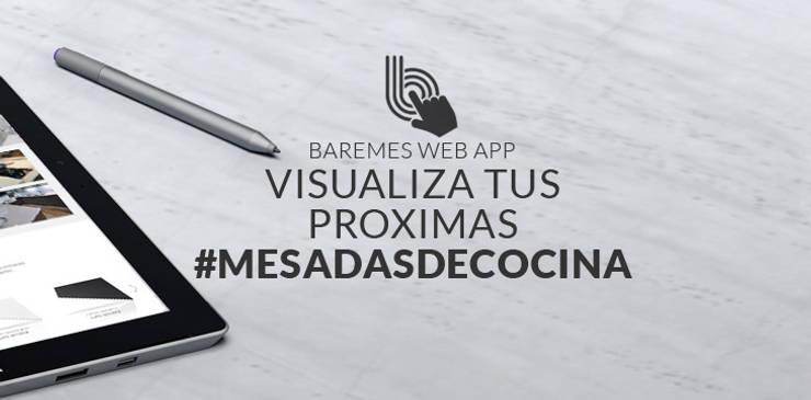 Jugá y Crea la Mesada que estás soñando:  de estilo  por Technistone Argentina,Moderno Cuarzo