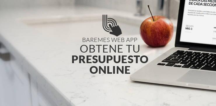 Presupuestá Online la mesada que estás soñando:  de estilo  por Technistone Argentina,Moderno Cuarzo