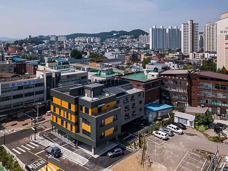 송정동 상가주택: 제이디에이건축사사무소의