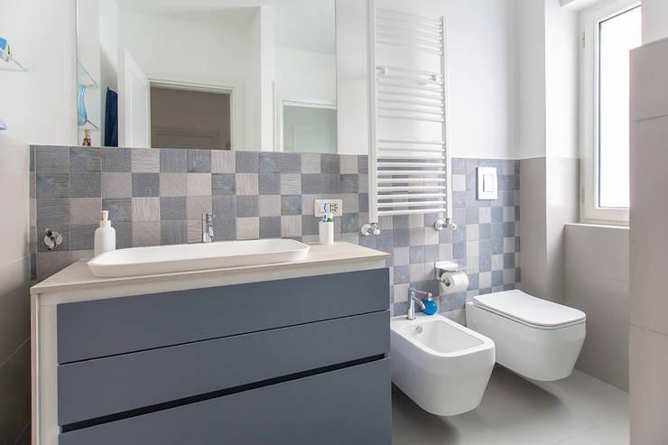 Ristrutturazione appartamento 110 mq a napoli - Piastrelle bagno altezza giusta ...