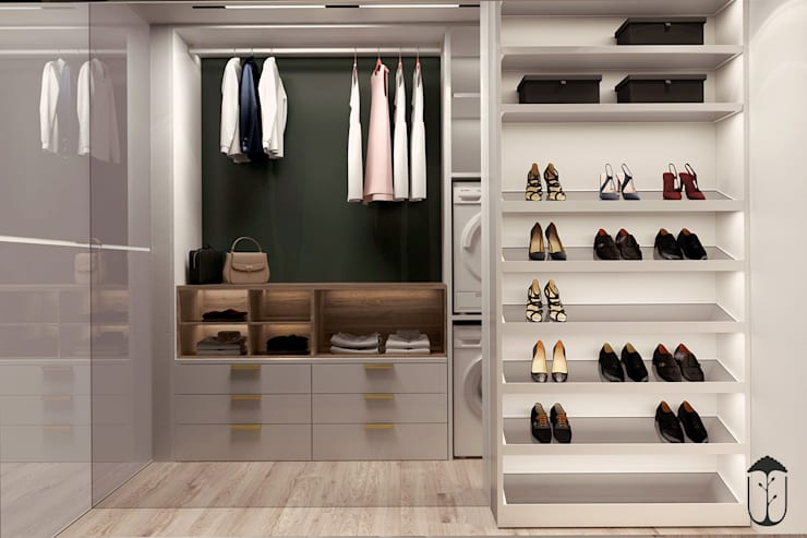 Closets  por U-Style design studio