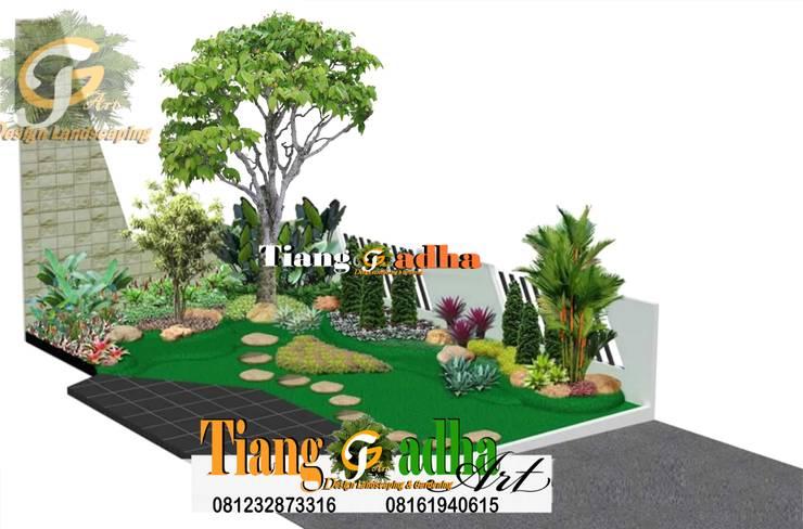 Desain Taman Halaman Depan:   by Tukang Taman Surabaya - Tianggadha-art