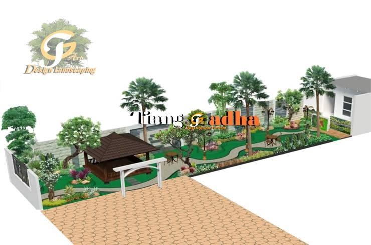 Desain Taman Halaman samping:   by Tukang Taman Surabaya - Tianggadha-art
