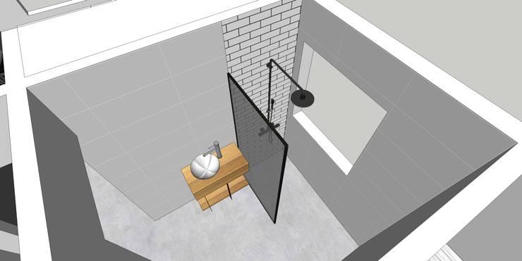 Depto FM: Baños de estilo  por MMAD studio - arquitectura & mobiliario -