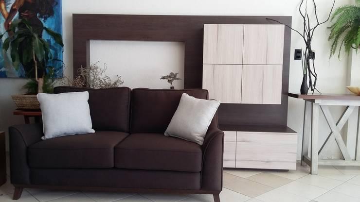 SALAS: Salas de estilo  por EL DIVÁN Arquitectura & Diseño de Interiores