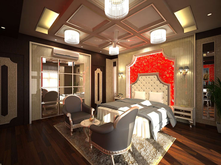 Master Bedroom ....:   by Archspace Interio