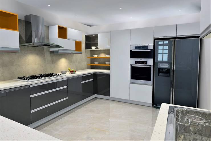 Moduler Kitchen..:   by Archspace Interio