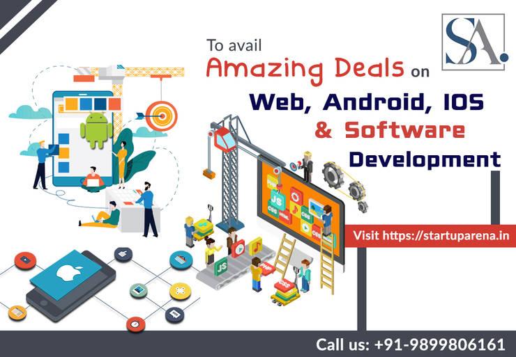 Startuparena-Web Development services India , Website Development company by Startuparena Asian