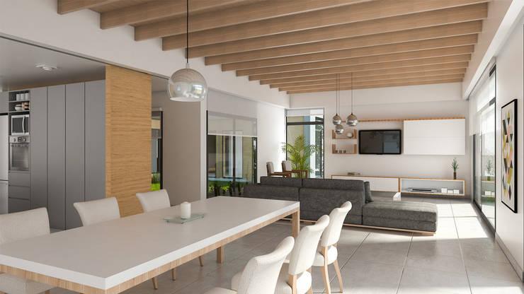 Lote 50 – Plaza Pueblo: Livings de estilo  por WGS SRL,