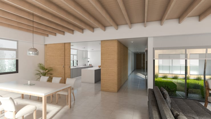 Lote 50 – Plaza Pueblo: Livings de estilo  por WGS SRL
