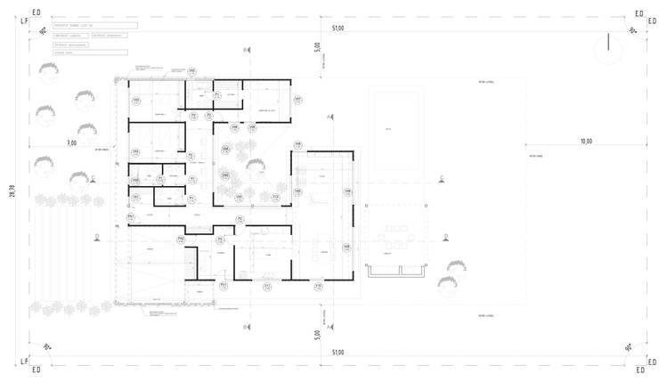 Lote 50 – Plaza Pueblo:  de estilo  por WGS SRL