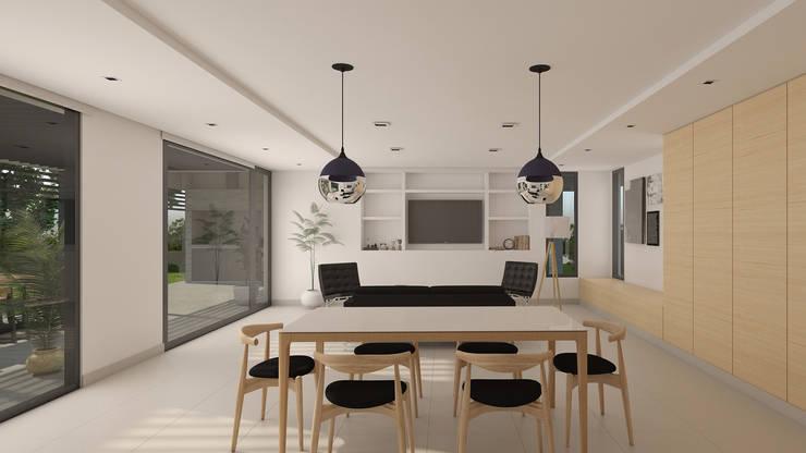 Lote 5 – Plaza Pueblo: Livings de estilo  por WGS SRL,