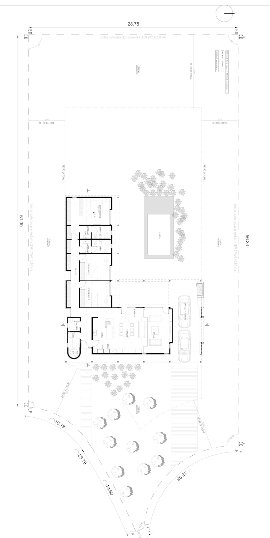 Lote 5 – Plaza Pueblo:  de estilo  por WGS SRL,