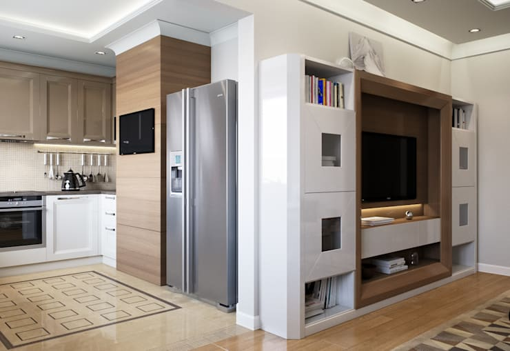 Kitchen by EJ Studio, Modern