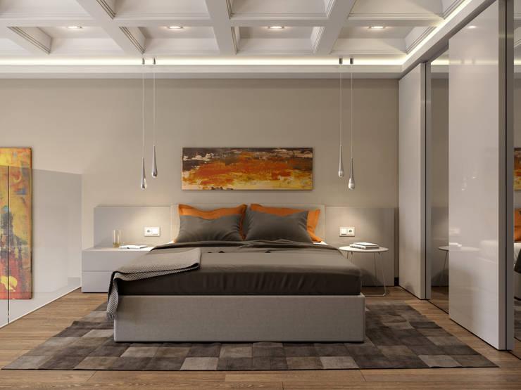Bedroom by EJ Studio, Modern