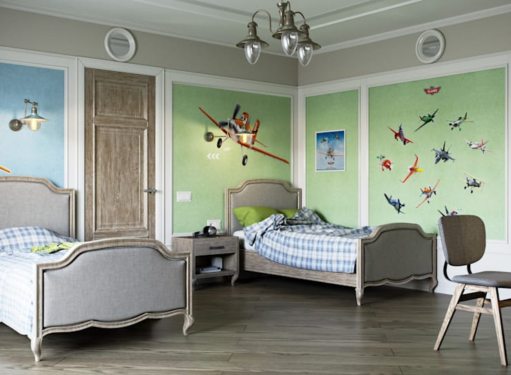 Mediterrane Kinderzimmer von EJ Studio Mediterran