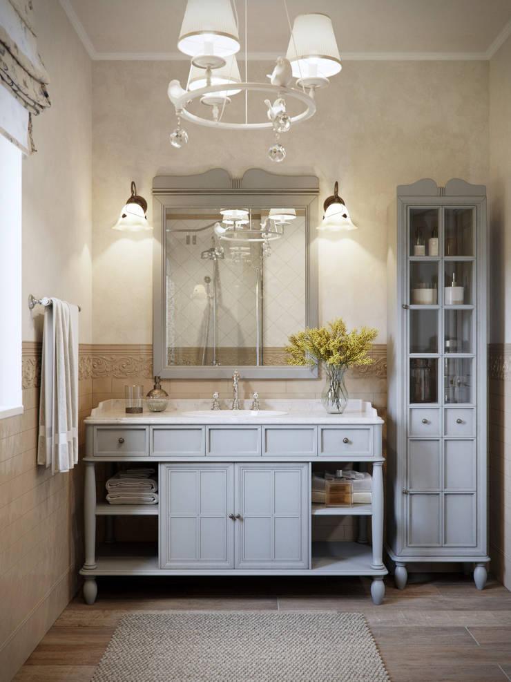 Bathroom by EJ Studio, Country