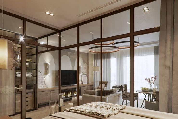 Bedroom by EJ Studio, Eclectic