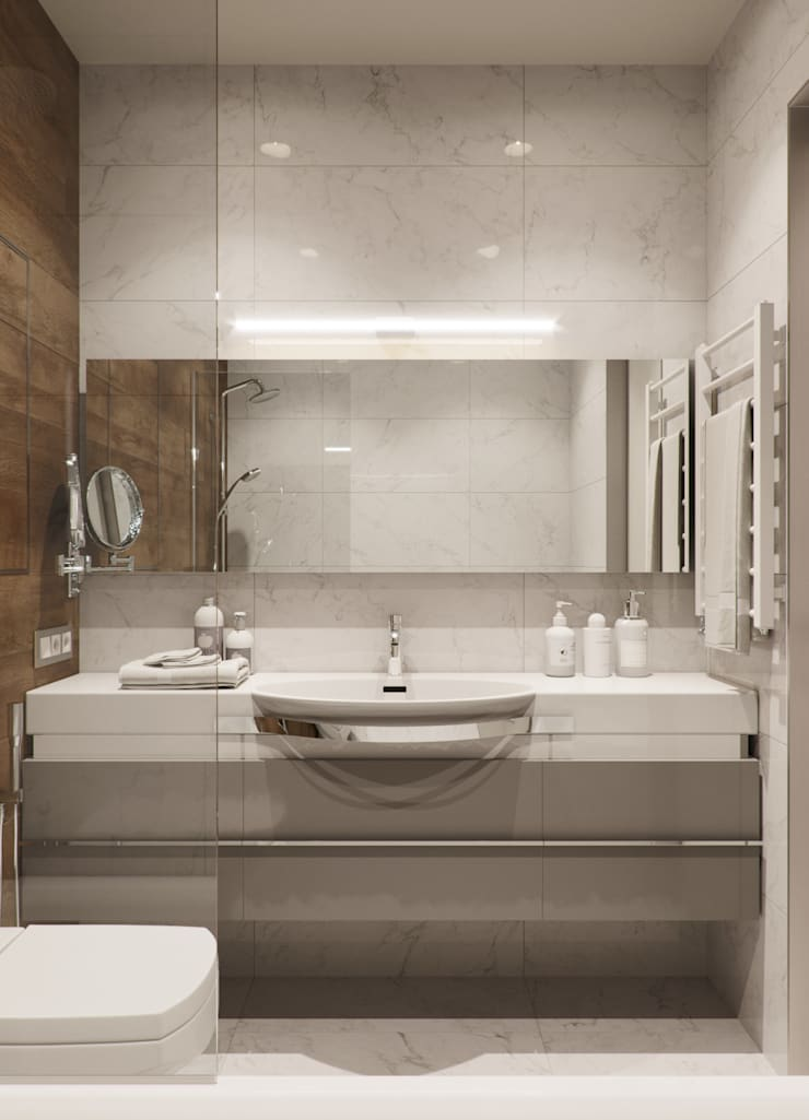 Bathroom by EJ Studio, Minimalist