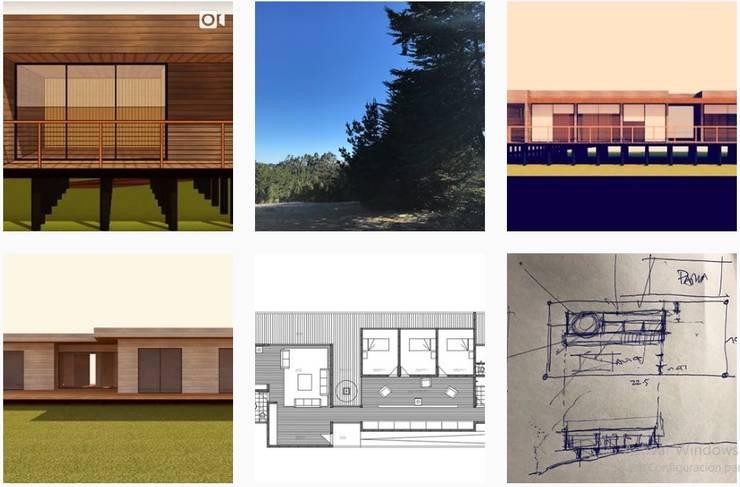 Arquitectura - Bocetos - Esquemas - Proyectos - Construccion:  de estilo  por Loberia Arquitectura