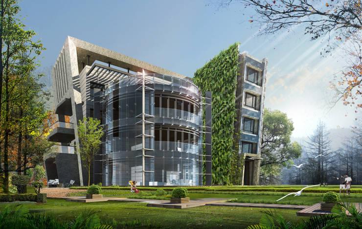 台北市案例-私人住宅規劃:   by 雲展建築設計 Winstarts Architectural Design Group