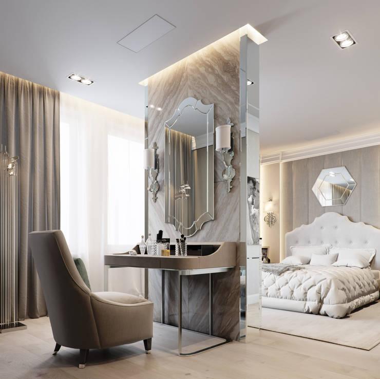 Dormitorios de estilo ecléctico de EJ Studio Ecléctico