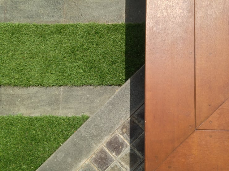 Grass & Tiles Pattern:   by KAD Firma Arsitektur