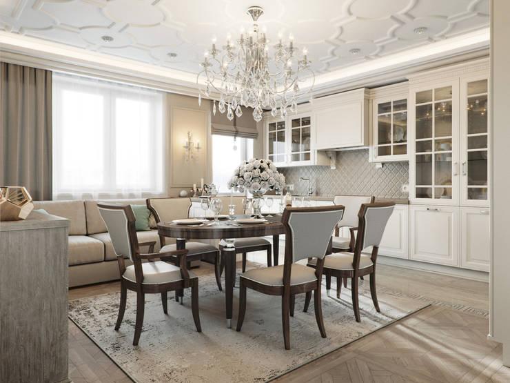 Living room by EJ Studio, Classic