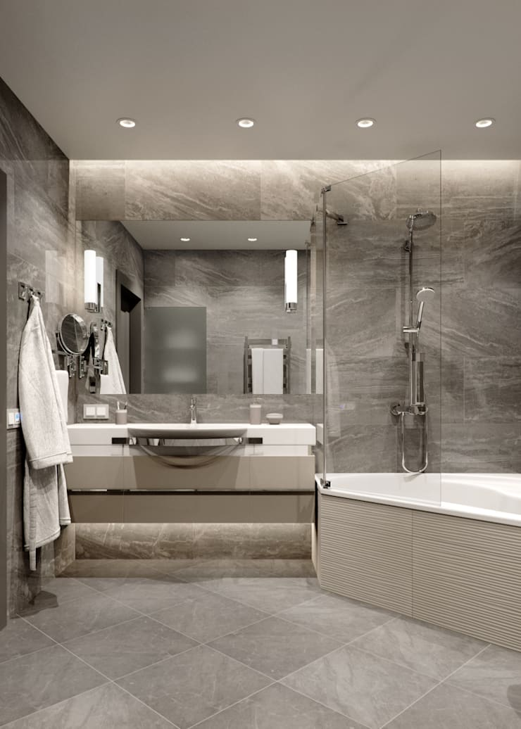 Bathroom by EJ Studio, Modern