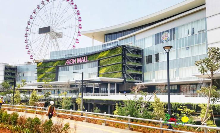 AEON – Jakarta Garden City:  Pusat Perbelanjaan by PT. Kampung Flora Cipta