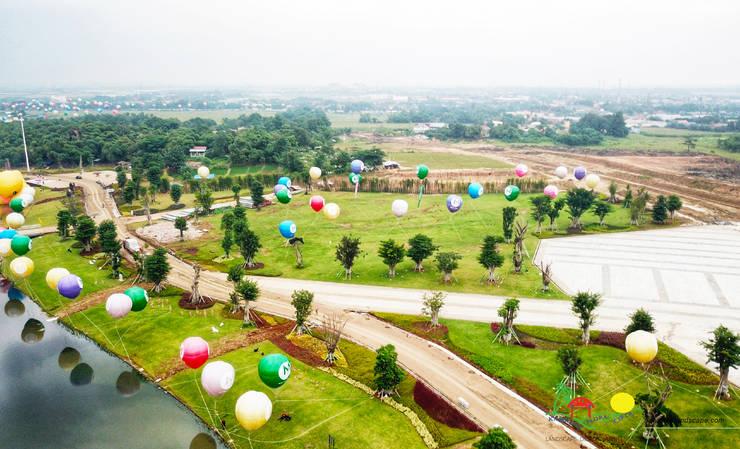 MEIKARTA:  Ruang Komersial by PT. Kampung Flora Cipta