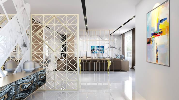 modern living room design :   by Rhythm  And Emphasis Design Studio
