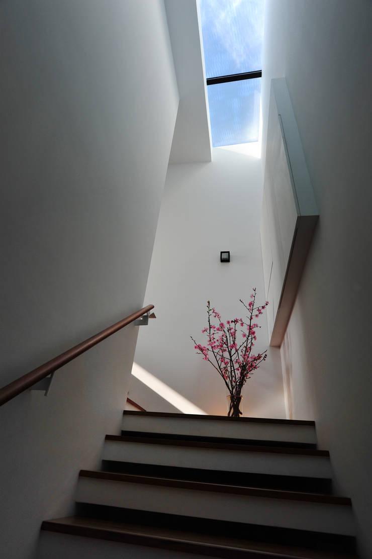 光梯之端:  屋頂 by 黃耀德建築師事務所  Adermark Design Studio