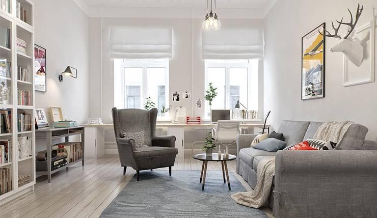 skandinavischer stil von rius interior homify. Black Bedroom Furniture Sets. Home Design Ideas