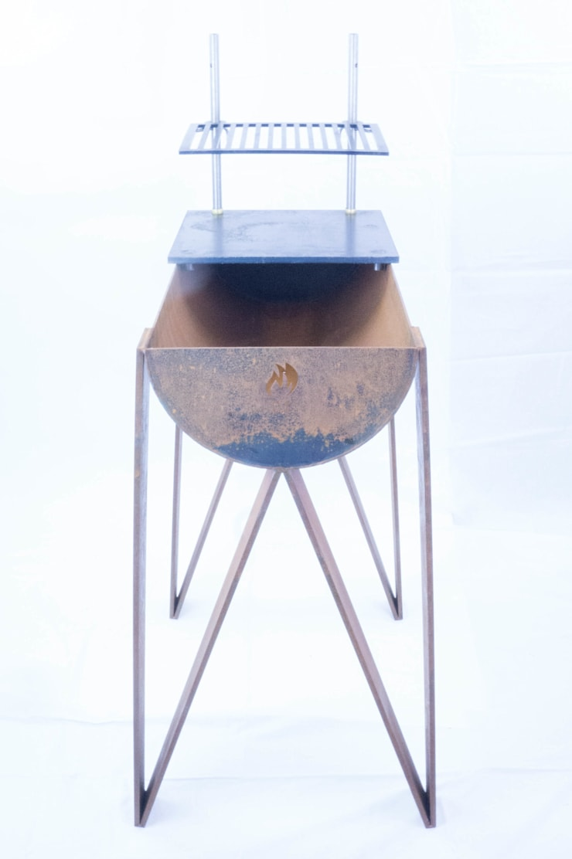 Vuurbak model 3:   door Vuurbak, Industrieel IJzer / Staal