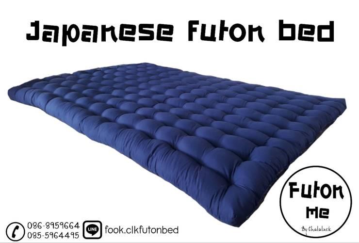 ที่นอนญี่ปุ่น ฟุตง traditional japanese futon bed :  ห้องนอน by chalaluck