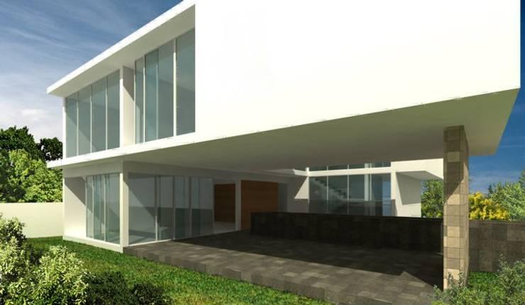Casa EM :  de estilo  por TaAG Arquitectura
