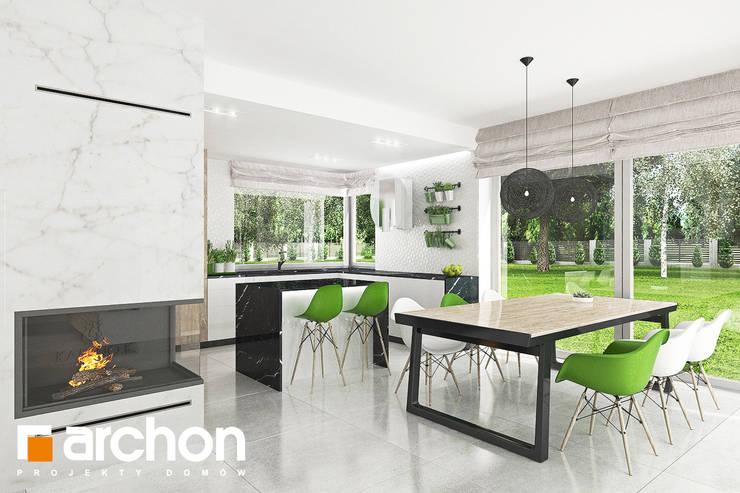 Кухни в . Автор – ARCHON+ PROJEKTY DOMÓW