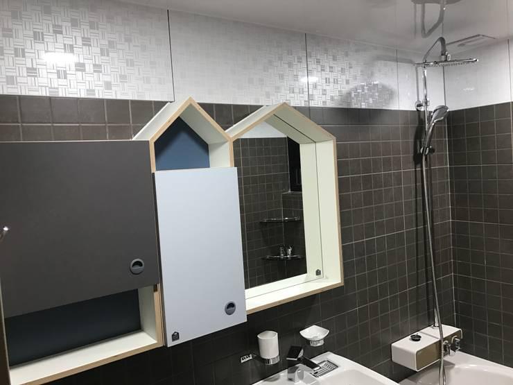 대림골든빌 49평: 디자인K하우징의  욕실