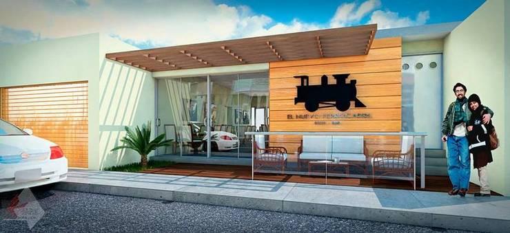 El nuevo Ferrocarril: Comedores de estilo  por A477 Arquitectos,