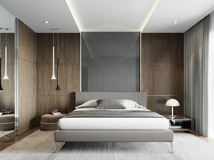 Bedroom by EJ Studio, Modern