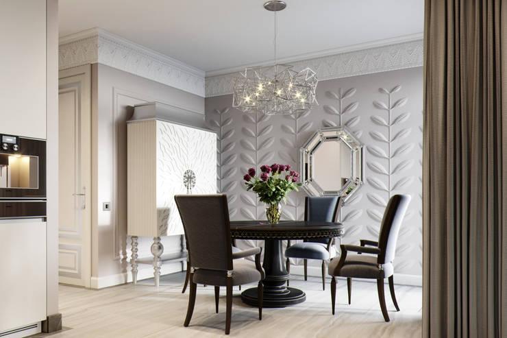 Квартира в ЖК Привилегия: Столовые комнаты в . Автор – EJ Studio, Модерн