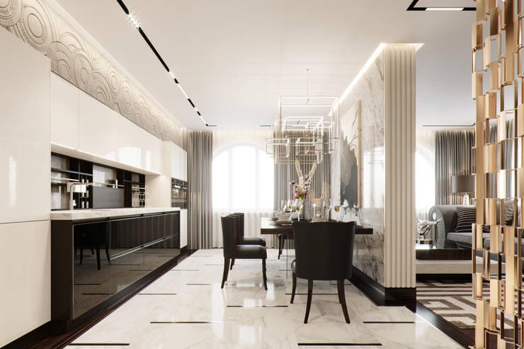 Kitchen by EJ Studio, Modern